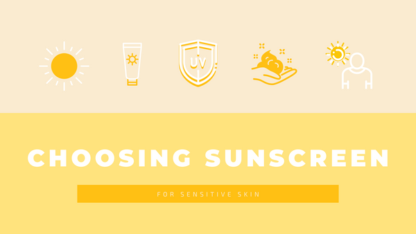 how to choose sunscreen for sensitive skin
