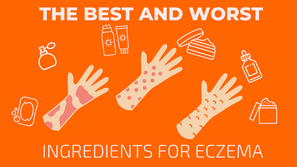 skin care ingredients for eczema