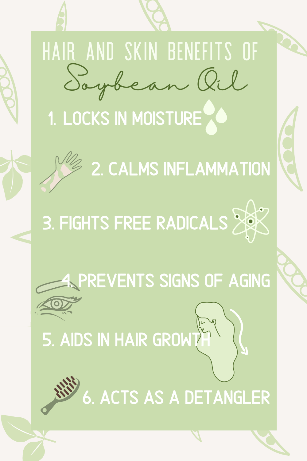 hair and skin benefits of soybean oil
