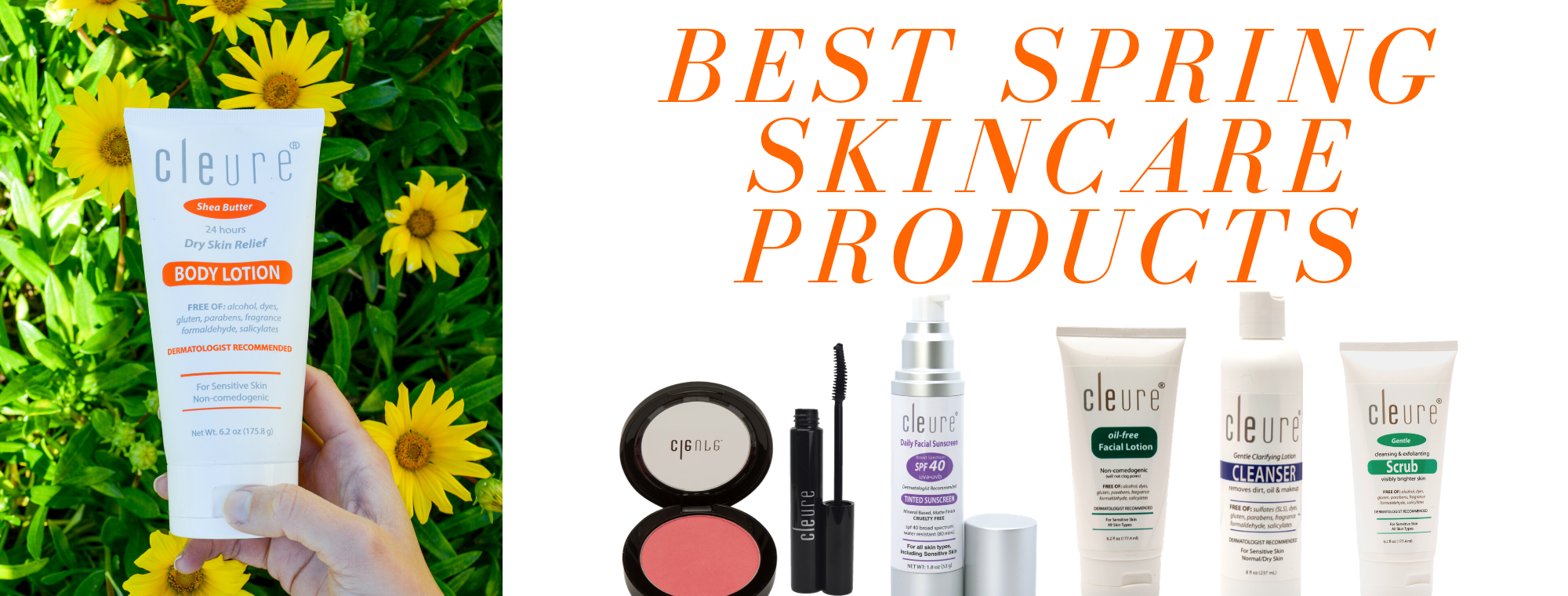 best spring skincare products