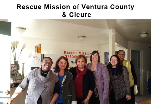 Cleure Giving Back with Rescue Mission