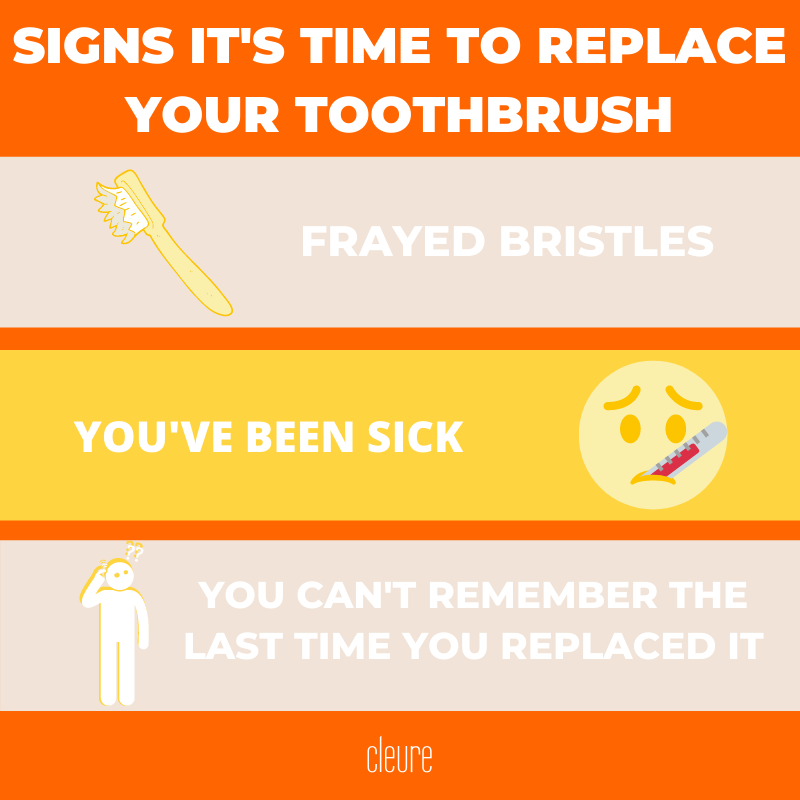 signs it's time to replace your toothbrush