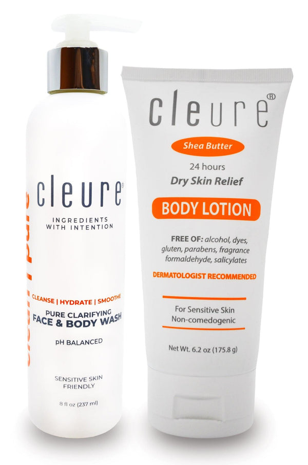 Body Wash and Body Lotion Duo