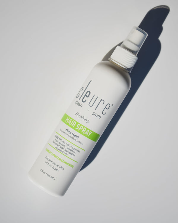 Cleure Hypoallergenic Firm Hold Hair Spray