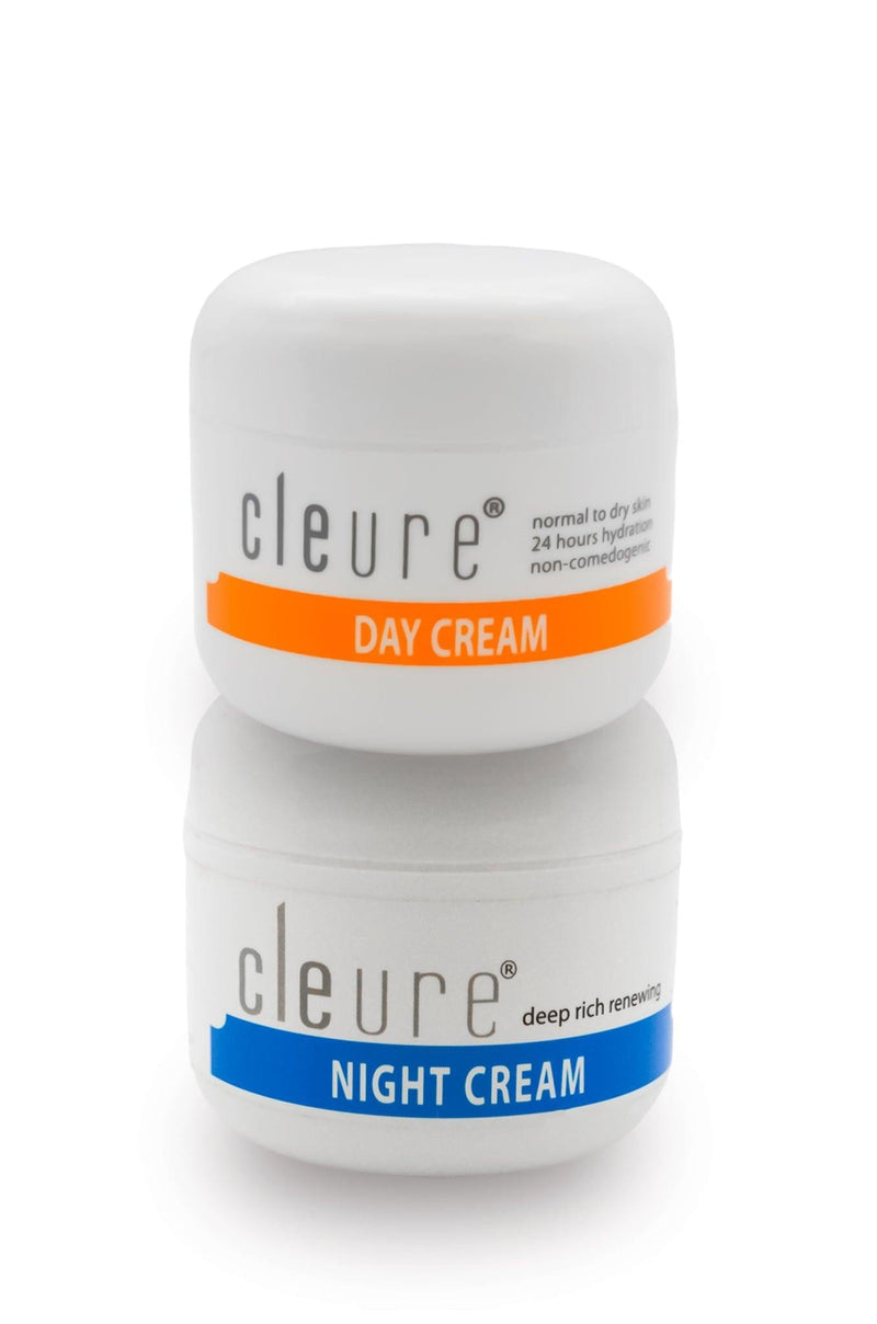Cleure Day And Night Cream Duo