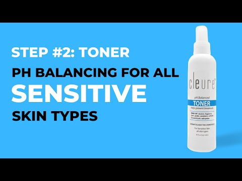 Toner - Alcohol-Free for Sensitive Skin