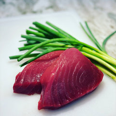 Yellowfin Ahi Tuna fresh from the Gulf of Mexico