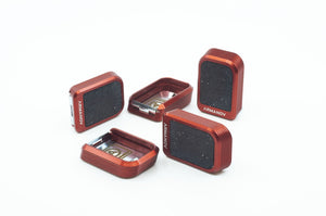 Magazine base pads for CZ Shadow in red