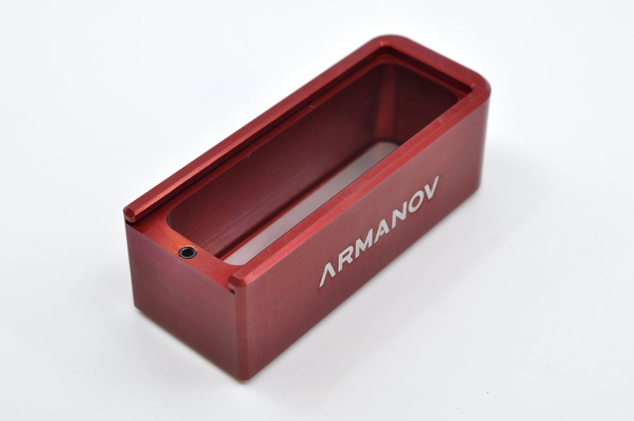 Armanov floor plate for shotgun in red colour