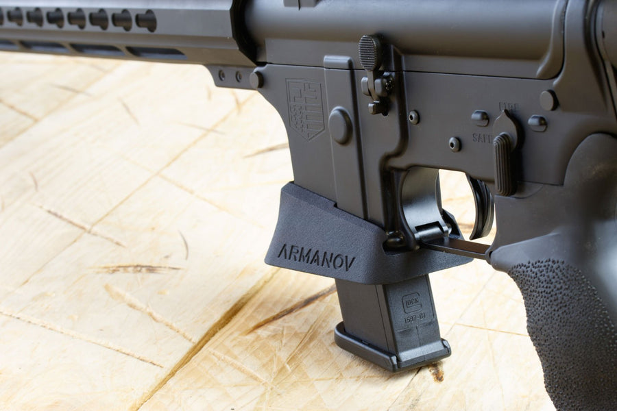 Magwell for DiamondBack DB9 9mm rifle