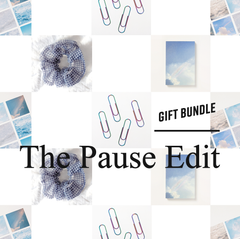 The Pause Edit Stationery Gift Bundle