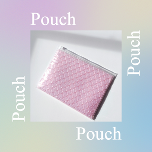 Pink Heart Shaped Pouch