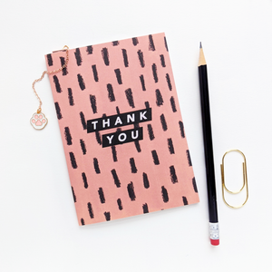 Thank You Greeting Card | The Naked Desk | Joy Jen Studio