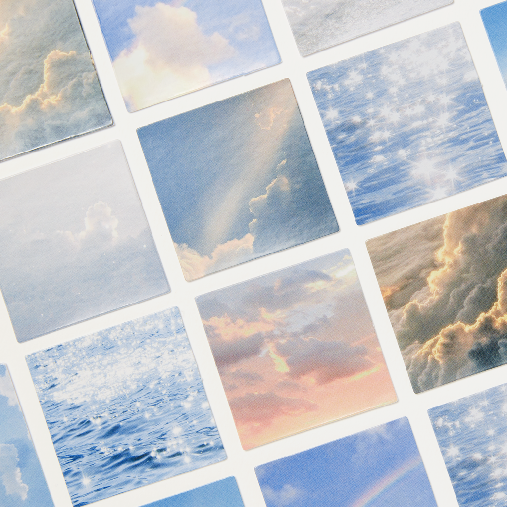 Sun, Sea, Sky Sticker Set