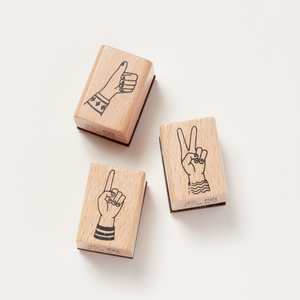 Rubber Stamp – Thumbs Up