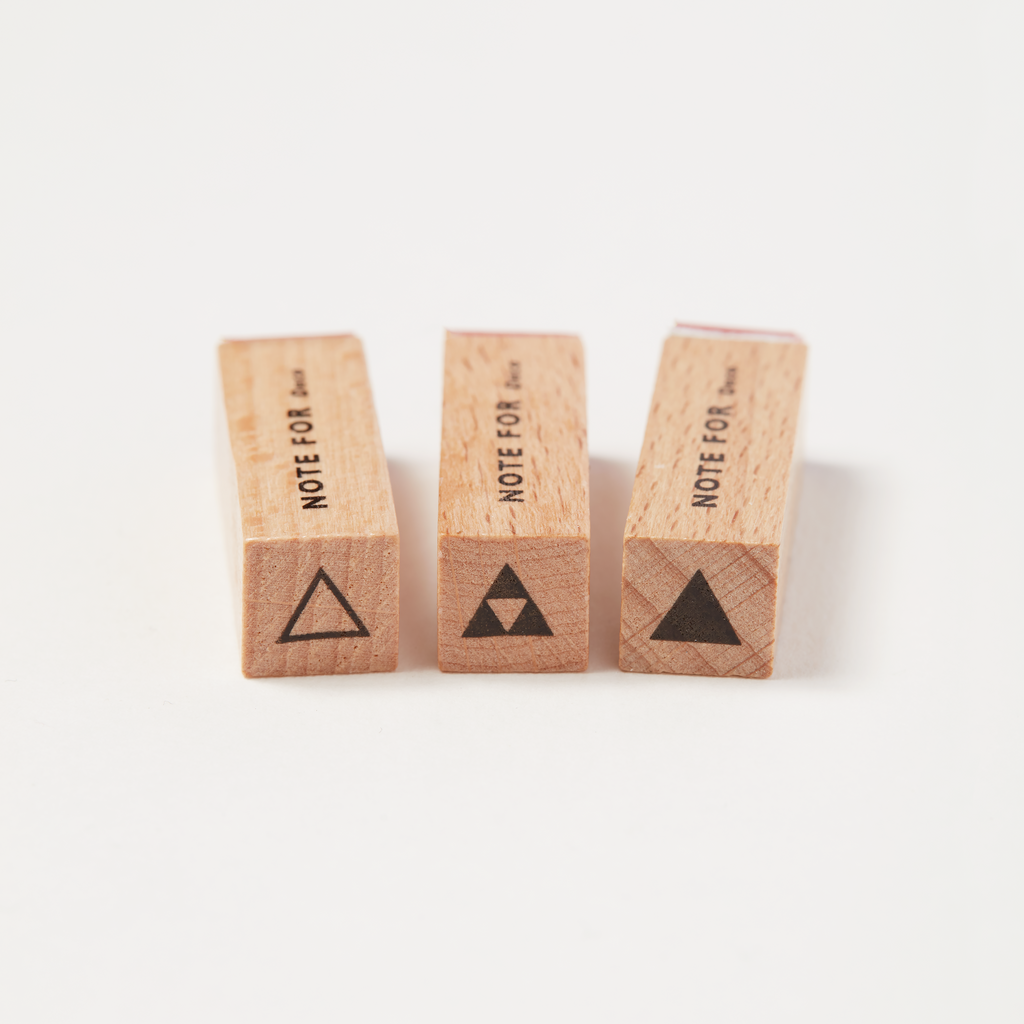 Mini Pyramid Stamp Set