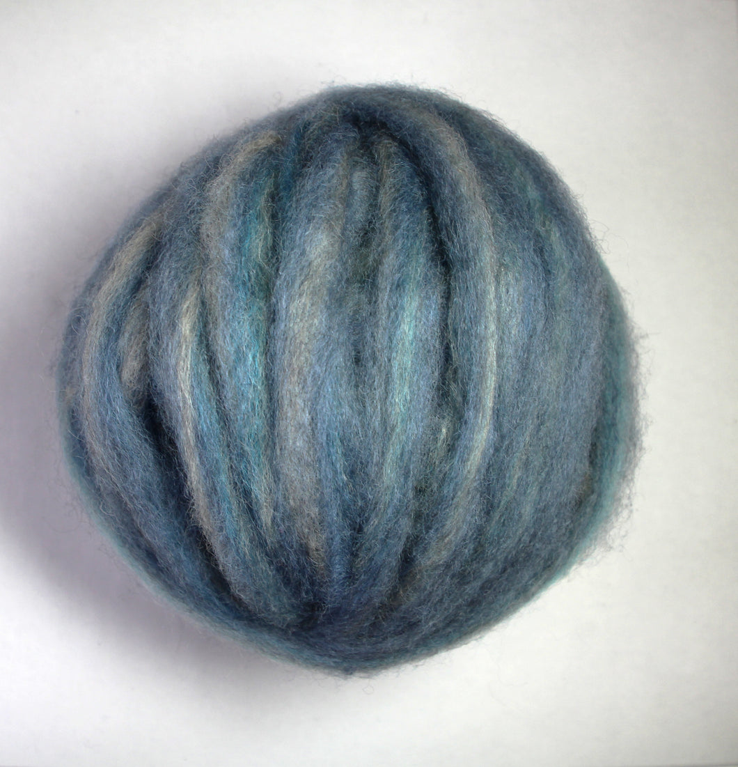 Coopworth Roving Blue/Turquoise