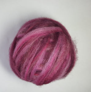 Coopworth Roving Raspberry