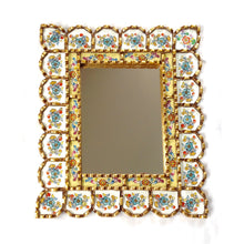 Load image into Gallery viewer, Handcrafted rectangular mirror - Sami cream