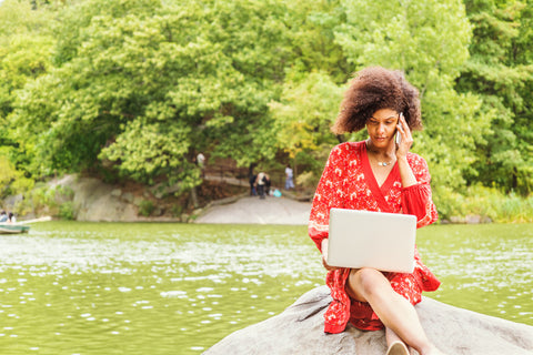 Travel safety - remote work for wellness