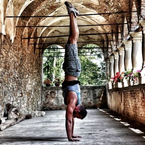 Partner yoga, couples yoga is also known as Acro-yoga