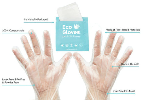 Eco-friendly disposable gloves