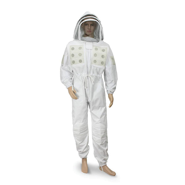 Professional Grade Ventilated Bee Suit with Oval Mask