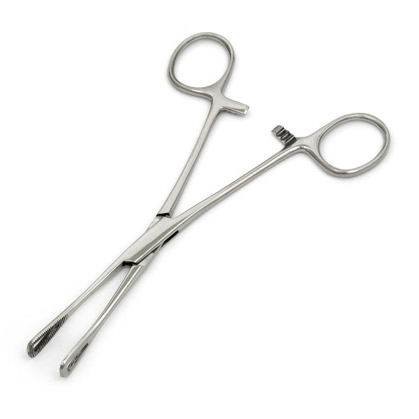 Stainless Steel Rounded Pennington Forceps Triangular Points - HugeCARE Srl