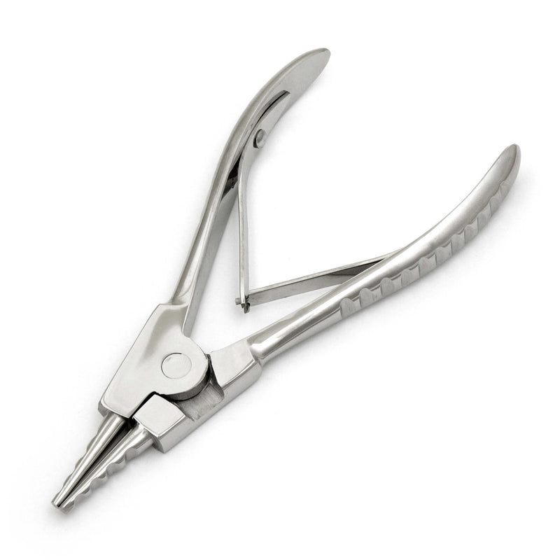 Pliers Open Media Rings 2 S. S With Handles - HugeCARE Srl