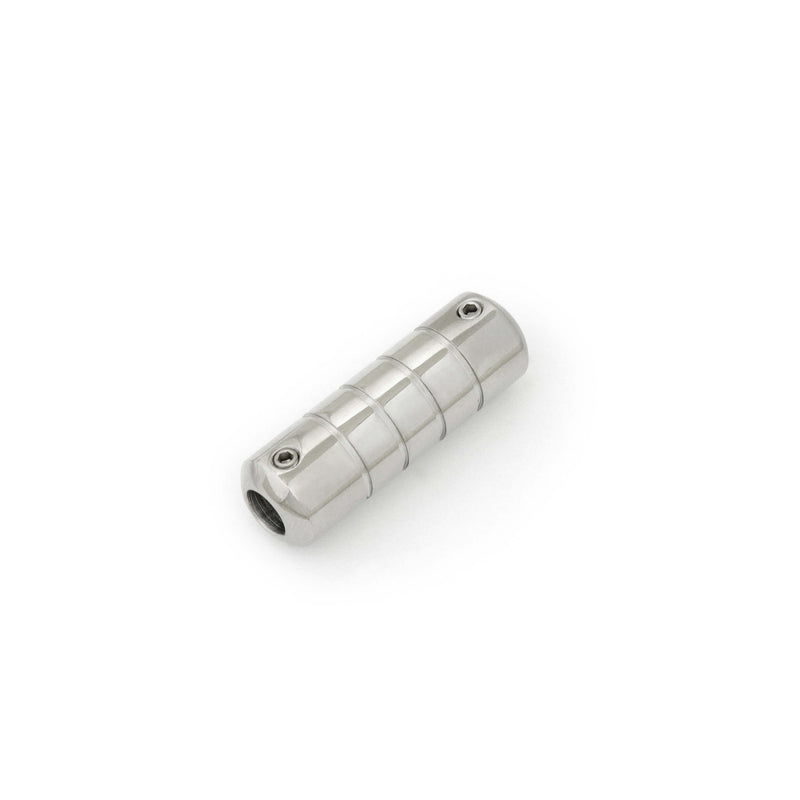 Tattoo Cartridge Grip Cylindrical Shape With Thin Grooves 16 Mm - HugeCARE Srl