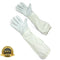 Beekeeping Goatskin Leather Gloves with Protective Long Sleeves - HugeCARE Srl