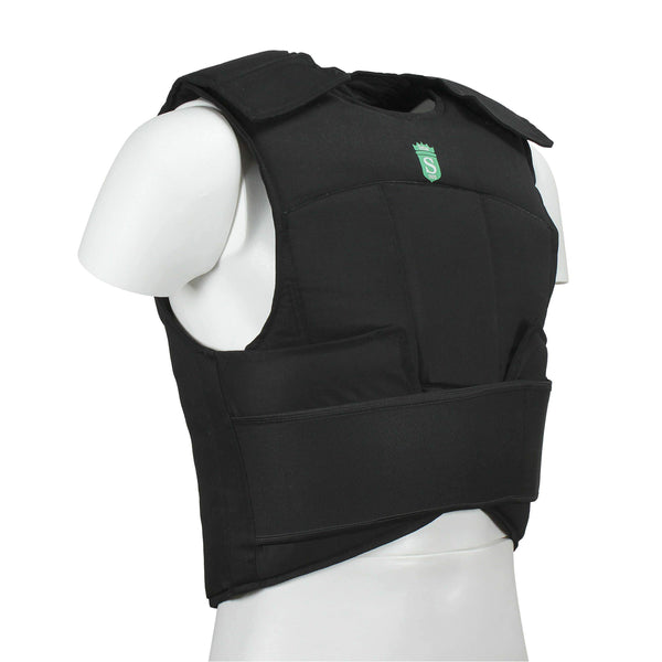 Go Karting Chest Rib Protector Black Color - HugeCARE Srl