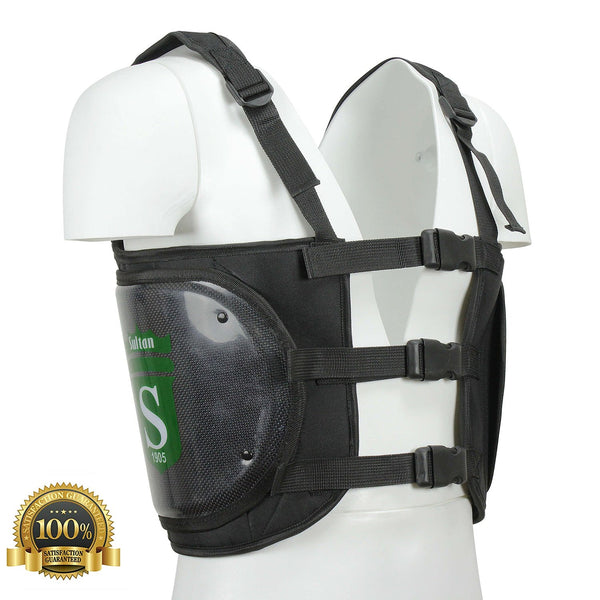 Go Karting Chest Rib Protector Brace Vest/ Riders Satefy Jacket/ Body Armour - HugeCARE Srl