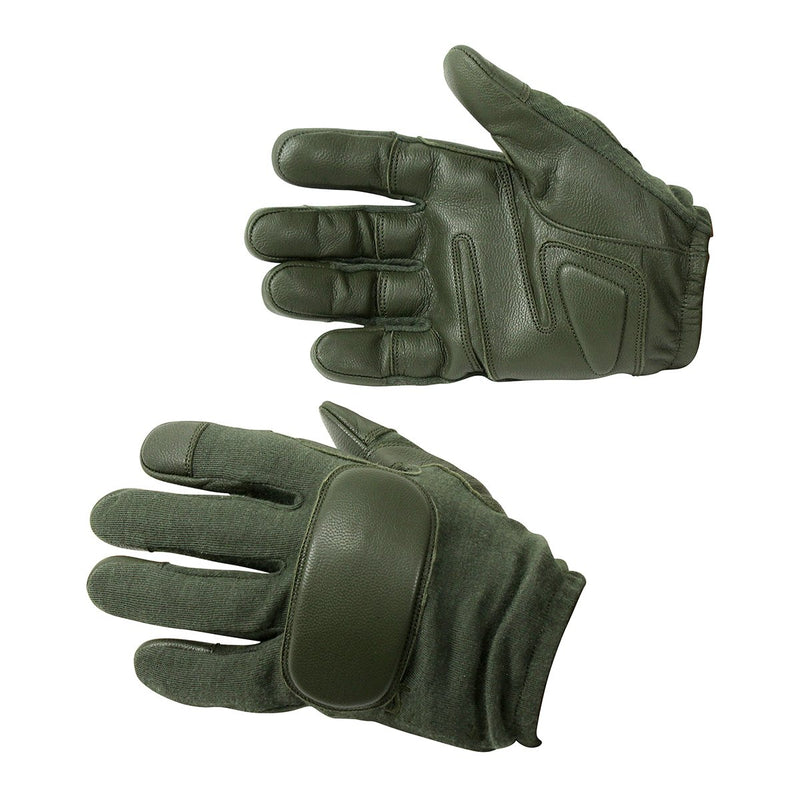 Real Goatskin Leather Operational Tactical Work Gloves - HugeCARE Srl
