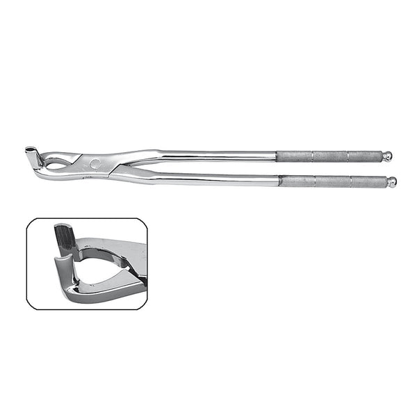 "20"" Long Nose Fragment Forceps - HugeCARE Srl"