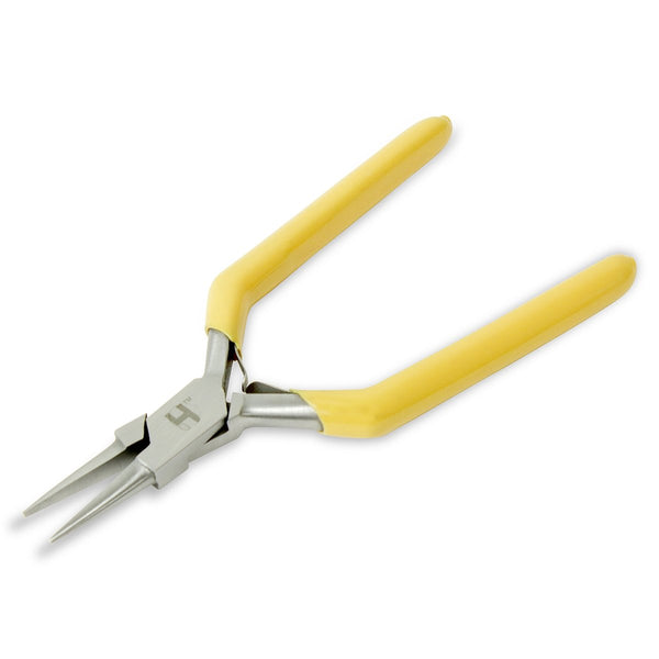 Chain Nose Pliers, Half-Rounded Tips, Length - 14 cm - HugeCARE Srl