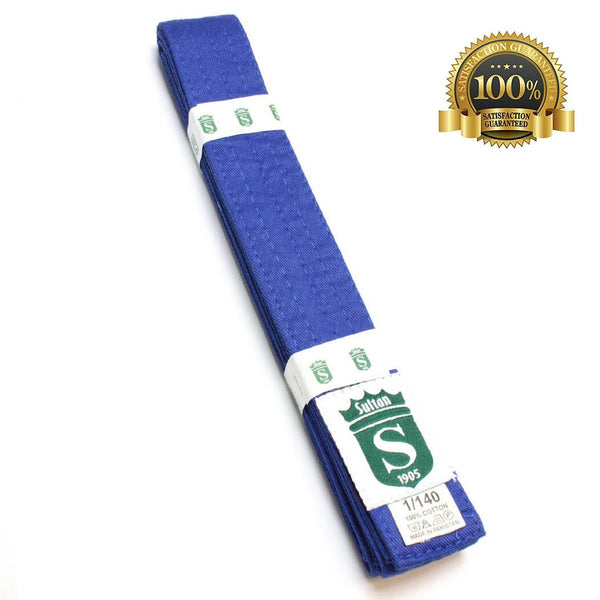 Premium Martial Arts Blue Belt For Kids - HugeCARE Srl