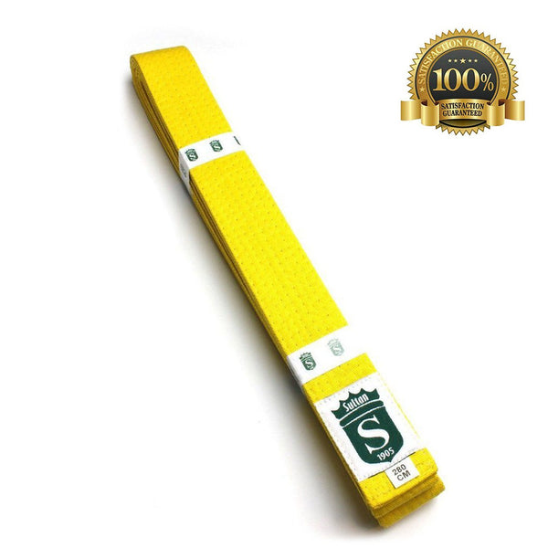 High-Quality Martial Arts Professional Yellow Belt Online Sale - HugeCARE Srl
