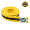 Premium Martial Arts Yellow Belt with Black Stripe - HugeCARE Srl