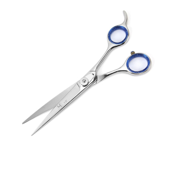 Professional Grooming Scissor with Curved Rounded Tips 19 cm - HugeCARE Srl