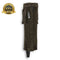 Horse Riding Fringed Suede Half Chaps Made Of Brown Suede Leather - HugeCARE Srl