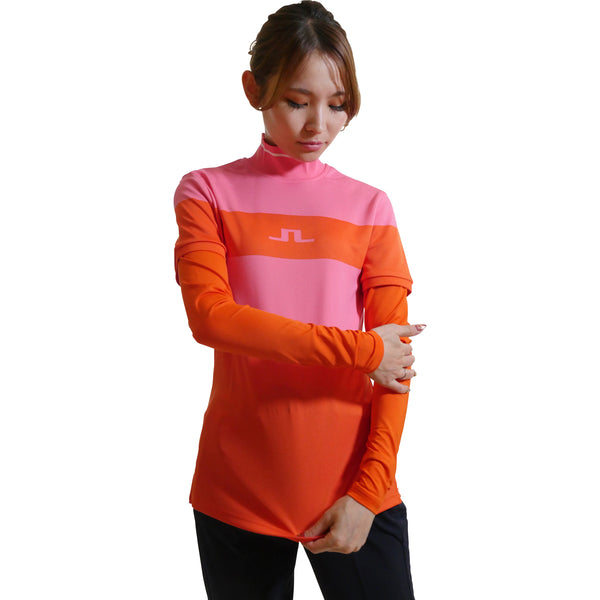 072-23910 Mila Long Sleeve Golf Top