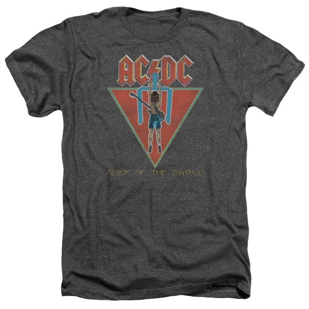 AC/DC Flick Of The Switch Album Cover T-Shirt - Rocker Merch