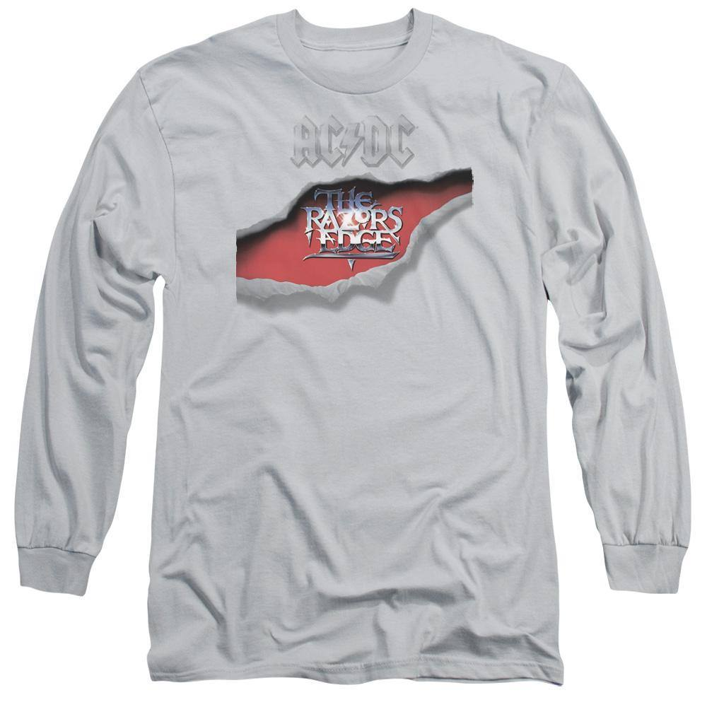 AC/DC Razor's Edge Album Cover Long Sleeve T-Shirt