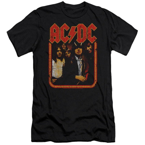AC/DC Distressed Highway Group T-Shirt - Rocker Merch