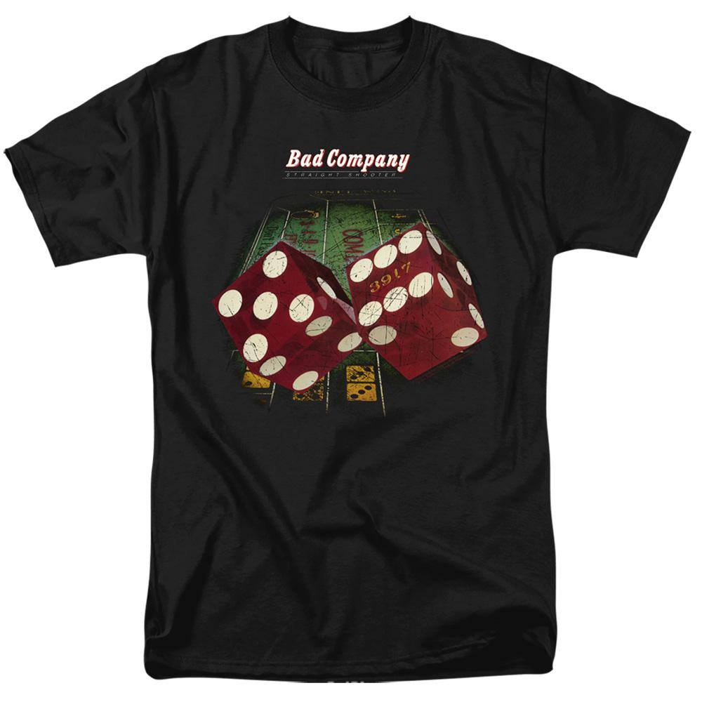 Bad Company Straight Shooter T-Shirt - Rocker Merch