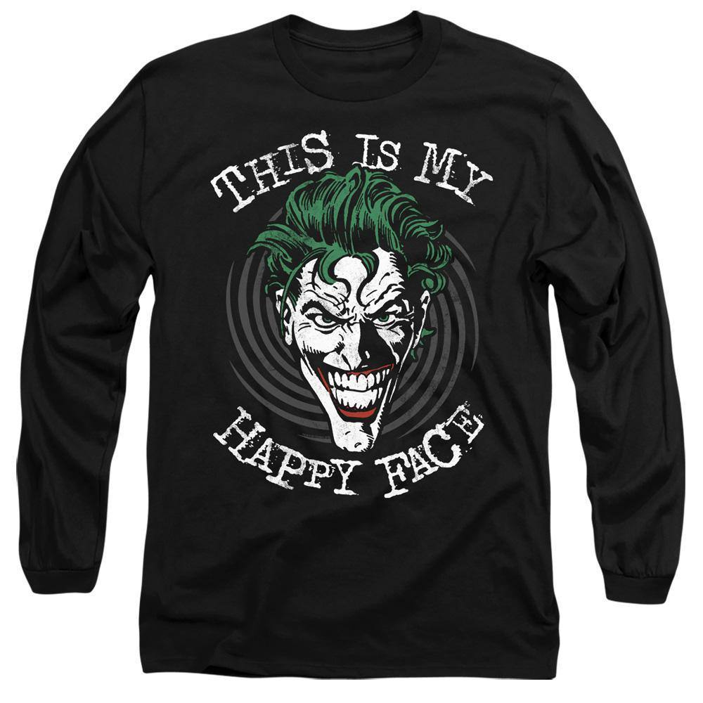 The Joker Maniacal Spiral Long Sleeve T-Shirt