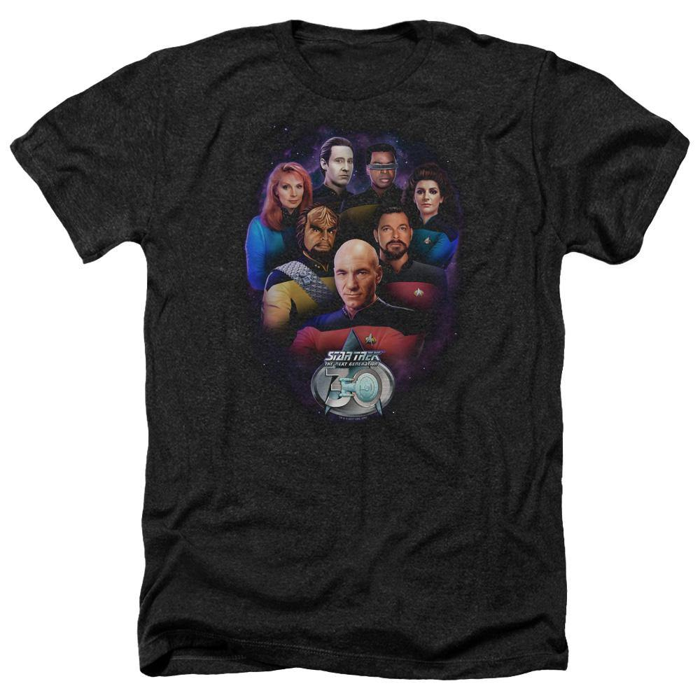 Star Trek TNG 30th Anniversary Crew T-Shirt - Rocker Merch