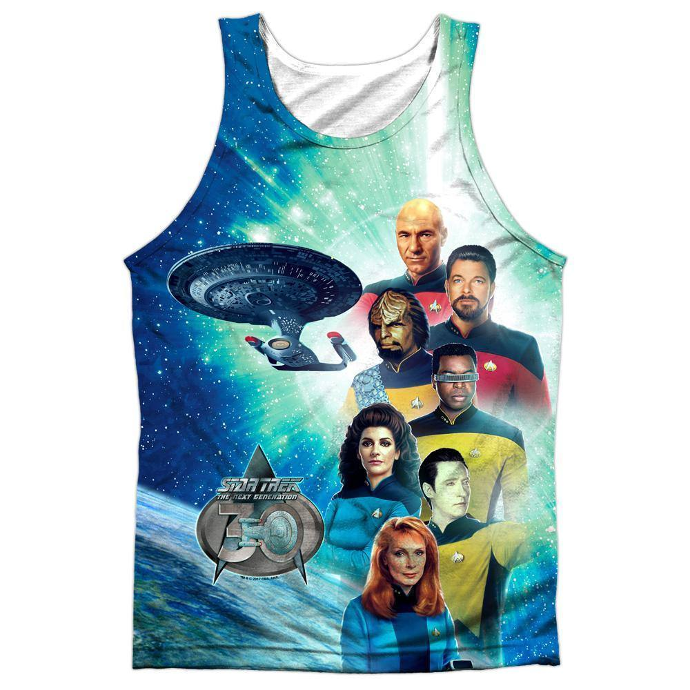 Star Trek TNG 30th Anniversary 30 Crew Sublimation Tank Top