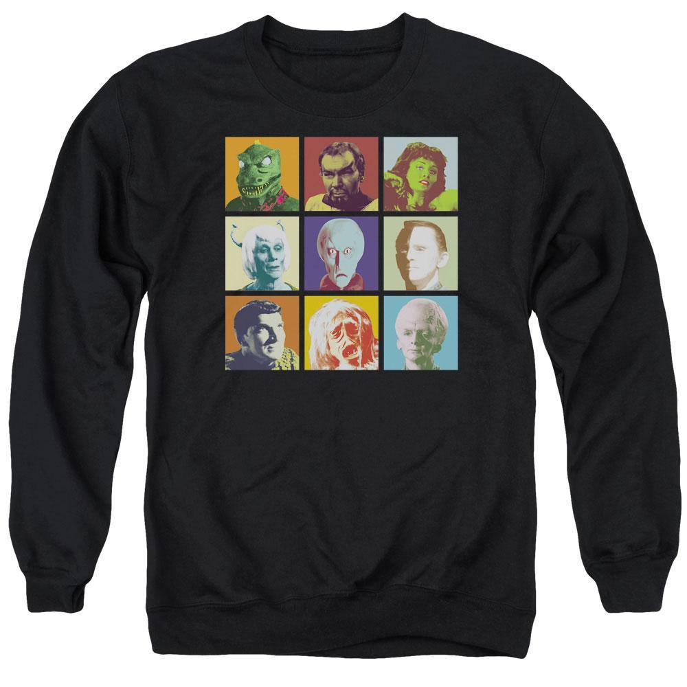 Star Trek The Original Series Alien Squares Sweatshirt